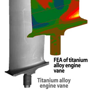 FEA of Turbine Vane